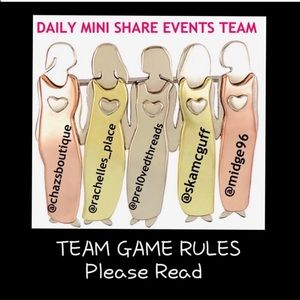 Other - PLEASE READ Team Rules & Guidelines